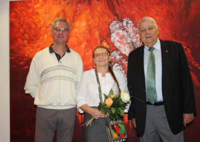Helmut Limbeck, Lucja Radwan, Präsident Dr.h.c. Rudolf Edlinger