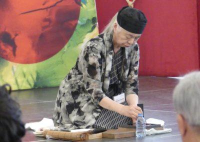 Kalligrafie –Performance Miwako Nagaoka